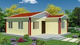 49 m² tek katlI prefabrİk ev